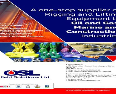 Wire Rope Slings – Nigerian Petroleum & Energy Companies Directory